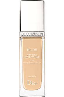 DIOR DiorSkin Nude Natural Glow radiant fluid foundation SPF 15