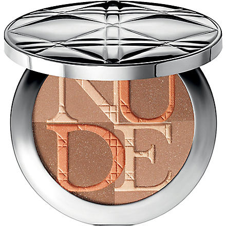 DIOR Diorskin Nude Shimmer instant illuminating powder (Amber