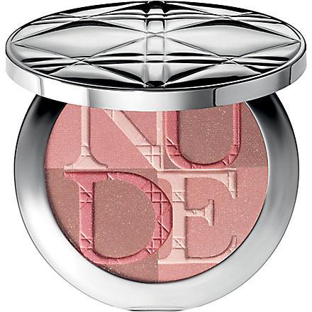 DIOR Diorskin Nude Shimmer instant illuminating powder (Pink