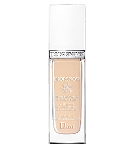 DIOR Diorsnow White Reveal Fresh Transparency Liquid Foundation SPF 30 PA+++ (010