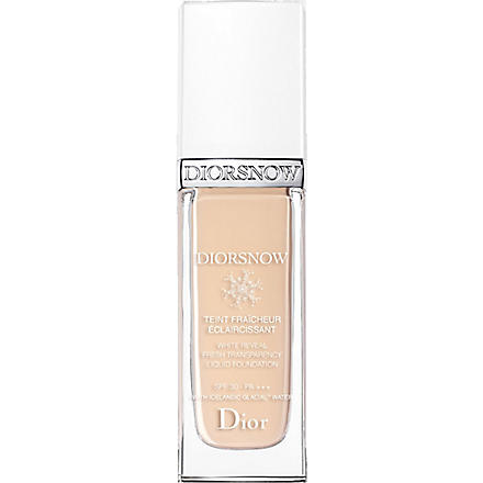 DIOR Diorsnow White Reveal Fresh Transparency Liquid Foundation SPF 30 PA+++ (011