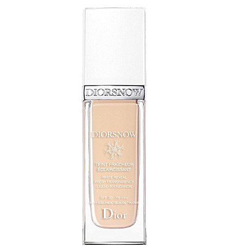 DIOR Diorsnow White Reveal Fresh Transparency Liquid Foundation SPF 30 PA+++ (011