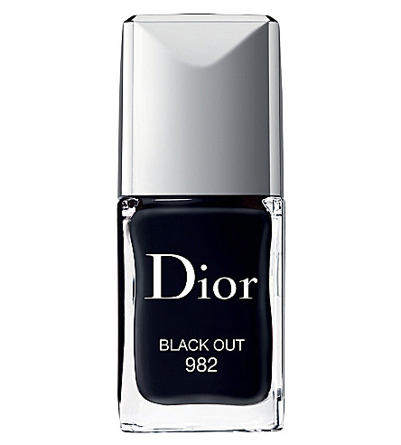 DIOR Dior Vernis (982 black out