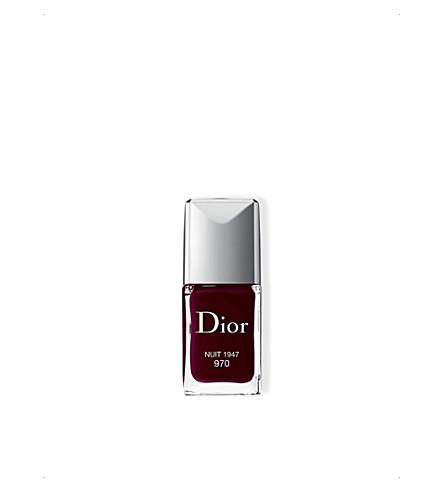 DIOR Vernis nail polish (Nuit1947