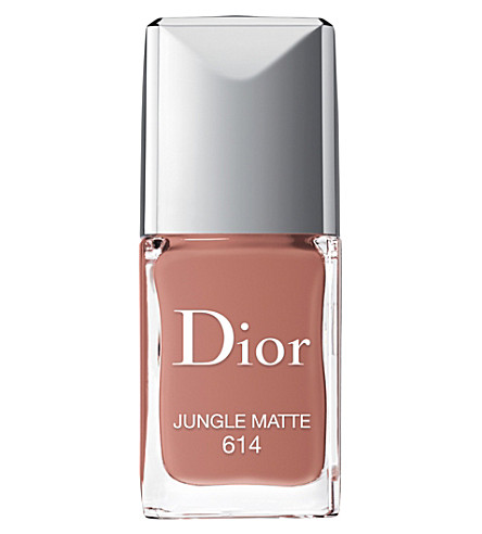 DIOR Vernis nail polish 10ml (Jungle+matte