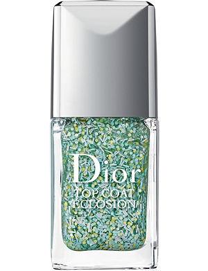 DIOR Vernis blossoming top coat nail varnish