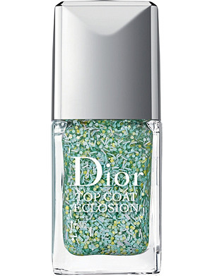 DIOR Vernis blossoming top coat nail varnish