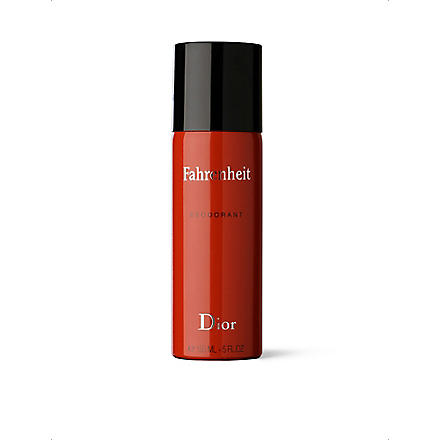DIOR Fahrenheit natural spray deodorant