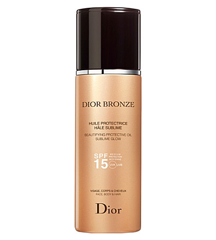 DIOR Dior Bronze Beautifying Protective Oil Sublime Glow SPF 30