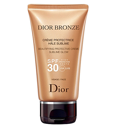 DIOR Bronze Beautifying Protective Creme Sublime Glow SPF 30
