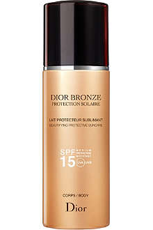 DIOR Dior Bronze sun protection body suncare spray SPF 15 200ml