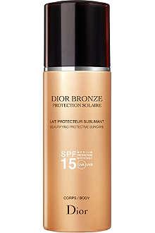 DIOR Dior Bronze sun protection body suncare spray SPF 15 200ml
