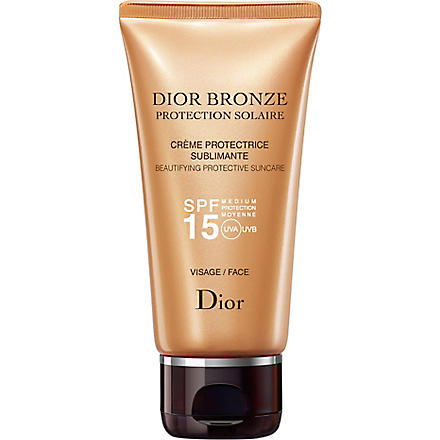 DIOR Dior Bronze sun protection face suncare tube SPF 15 50ml