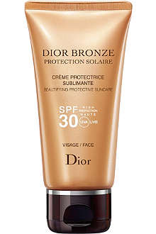 DIOR Dior Bronze sun protection face suncare tube SPF 30 50ml