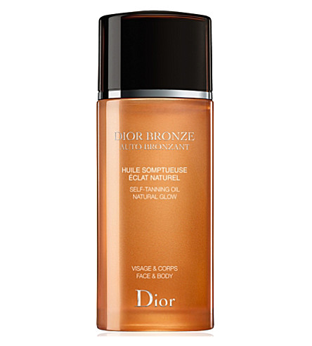 DIOR Bronze Self-tanning Oil Natural Glow 100ml