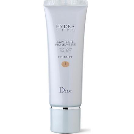 DIOR Hydra Life Pro–Youth Skin Tint 01 SPF 20