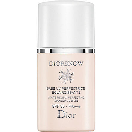 DIOR Diorsnow White Reveal Perfecting make-up UV base SPF 35 PA +++