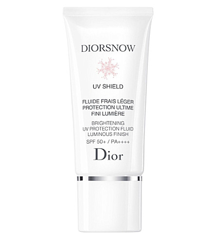 DIOR Diorsnow Brightening UV Protection Fluid Luminous Finish SPF50+ PA++++ 30ml