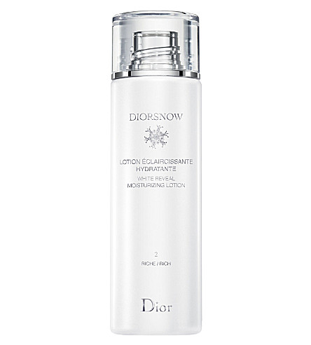 DIOR Diorsnow White Reveal moisturizing lotion – rich