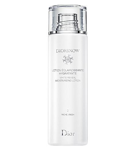DIOR Diorsnow White Reveal moisturizing lotion – rich