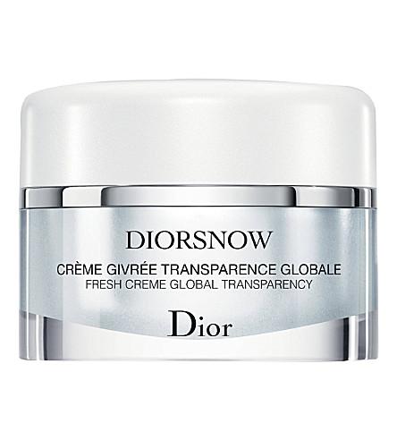 DIOR Diorsnow Fresh Creme Global transparency creme