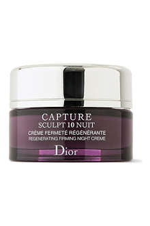 DIOR Capture Sculpt 10 night crème