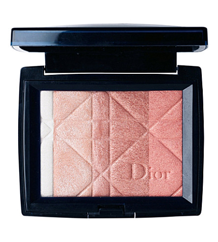 DIOR Diorskin Poudre Shimmer all over face powder (Rose+diamond