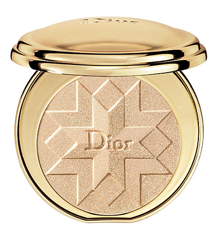 DIOR Diorific illuminating pressed powder (Gold+shock