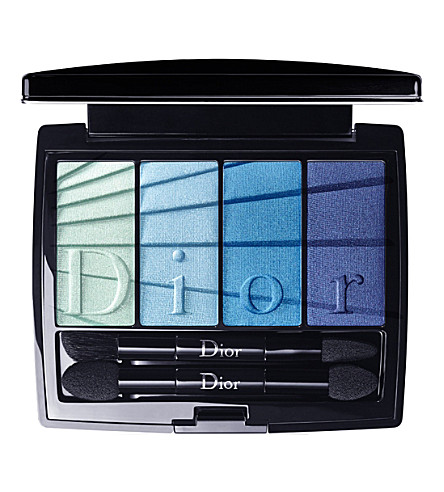 DIOR 4 couleurs eyeshadows (Blue+graduation