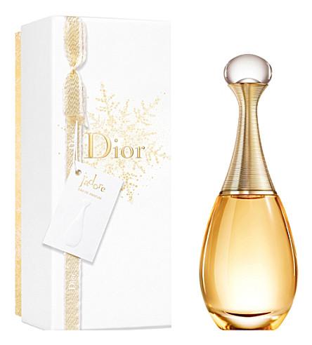 DIOR J 'adore Eau de Parfum in a Christmas gift wrap
