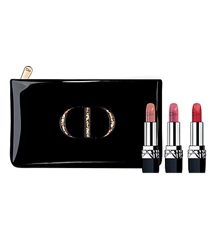DIOR Couture Collection Rouge Dior Colour Lipstick Trio