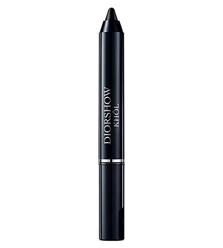 DIOR Diorshow Khôl 铅笔 (黑烟 + 黑色
