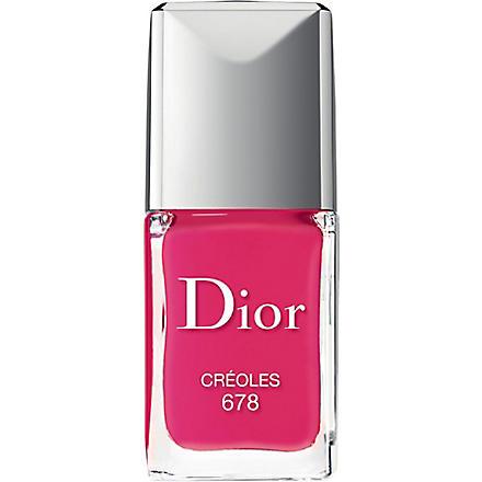 DIOR Vernis nail polish (Creoles