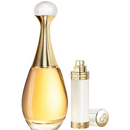 DIOR J'adore eau de parfum and travel spray set