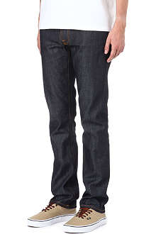 NUDIE JEANS Thin Finn slim-fit tapered Selvedge jeans