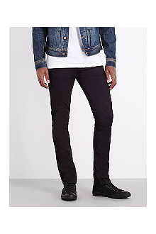 NUDIE JEANS Grim Tim slim-fit straight organic jeans