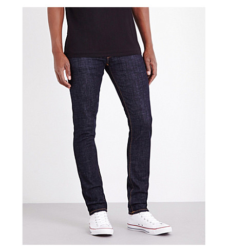 NUDIE JEANS Tight Long John slim-fit skinny jeans (Blue