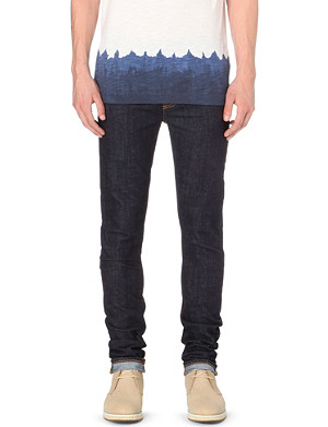 NUDIE JEANS High kai straight leg jeans