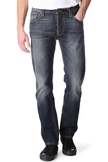 NUDIE JEANS Hank Rey regular-fit straight jeans