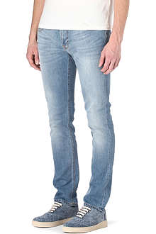 NUDIE JEANS Tape Ted skinny-fit tapered jeans