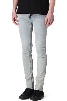NUDIE JEANS High Kai skinny-fit tapered jeans