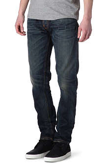 NUDIE JEANS Sharp Bengt loose-fit tapered jeans