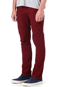 NUDIE JEANS Grim Tim organic corduroy regular-fit straight trousers