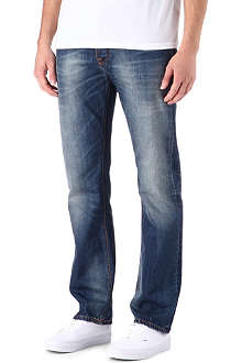 NUDIE JEANS Average Joe regular-fit straight jeans
