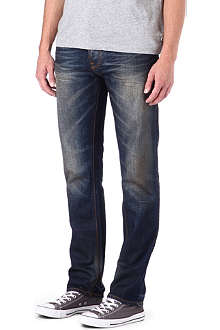 NUDIE JEANS Hank Rey Daquiri Blues regular-fit tapered jeans