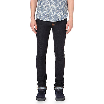 NUDIE JEANS Tube Tom slim-fit jeans (Indigo
