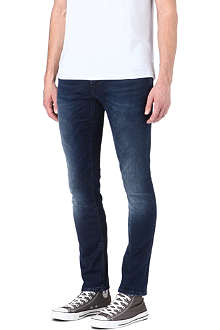 NUDIE JEANS Long John skinny straight jeans