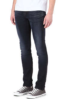 NUDIE JEANS High Kai slim-fit straight jeans