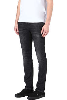 NUDIE JEANS Ted slim-fit straight jeans