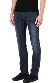 NUDIE JEANS Thin Finn slim-fit straight jeans